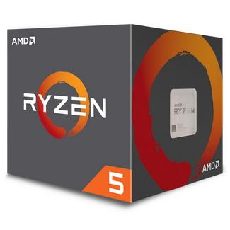 AMD Ryzen 5 2600X Hexa-Core 3.6GHz c/ Turbo 4.25GHz 19MB SktAM4