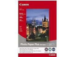 Canon Photo Paper Plus SG-201, 10x15, 50sheets papel fotográfico