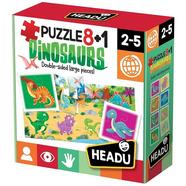 Puzzles 8+1 – Dinosaurs