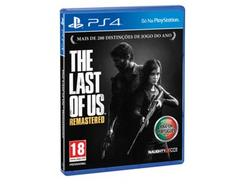 Jogo PS4 The Last Of Us:Remastered