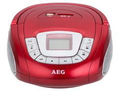 Rádio Portátil AEG SR 4373 Vermelho