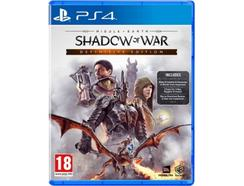 Middle-Earth: Shadow of War Definitive Edition – PS4