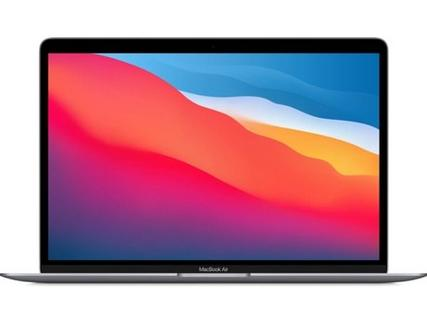 "MacBook Air APPLE Cinzento sideral – Z125c (13.3"" – Apple M1 – RAM: 16 GB – 512 GB SSD – GPU 8-Core)"