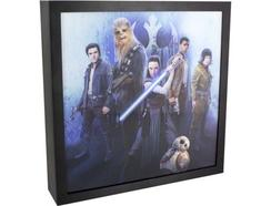 Candeeiro Luminart 3D STAR WARS The Last Jedi