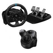 Logitech Pack G923 Volante y Pedales para PS4/PS5/PC + Driving Force Shifter