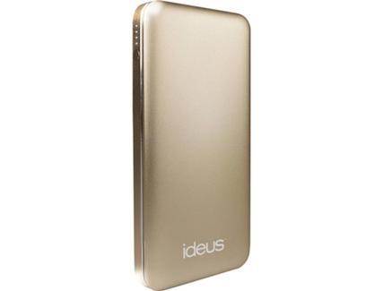 Power Bank Ideus Li-Po 10000 mAh Dourado