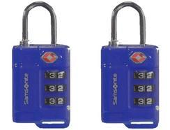 Cadeados com código TSA SAMSONITE em Azul