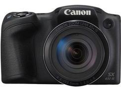 Máquina Fotográfica Bridge CANON Powershot SX432 IS (Preto – 20 MP – ISO: ISO: Auto até 1600 – Zoom Ótico: 45x)