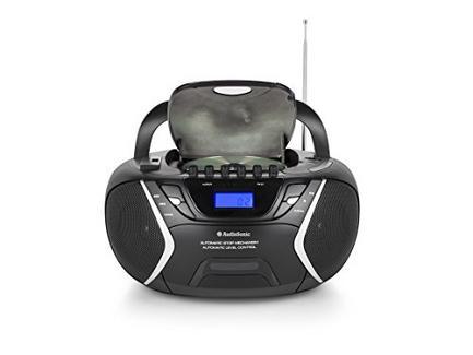 Rádio AUDIOSONIC CD 1596 Preto