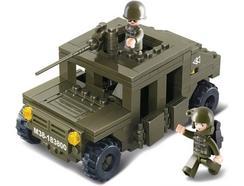 Construção Carro SLUBAN Blindado Army