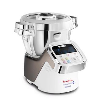 Robô de Cozinha MOULINEX i-Companion XL HF906B10 (3 L – 1550 W – 7 acessórios)