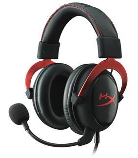 HyperX Cloud II Gaming Headset Vermelho