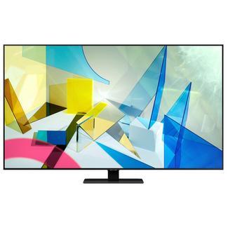 TV Samsung QLED 55 QE55Q80T 4K HDR 1500 Smart TV AI Prata