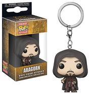 Figura FUNKO Pocket Pop! Keychain: LOTR and Hobbit: Aragorn