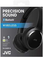 Auscultadores Bluetooth JVC HA-S60BT-B-E – Preto