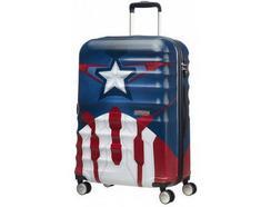 Mala de Viagem AMERICAN TOURISTER Marvel Capitão América 67 cm