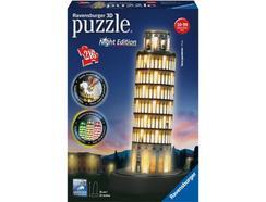 Construção Ravensburger Torre de Pisa Night Edition