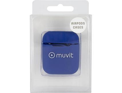 Capa Airpods MUVIT Silicone Azul