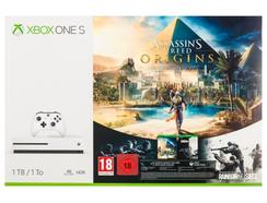 Consola Xbox One S 1TB + Assassin's Creed Origins + Tom Clancy's Rainbow Six Siege