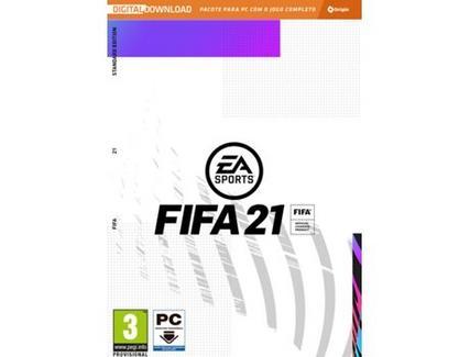 Jogo PC FIFA 21 (Desporto – M3)