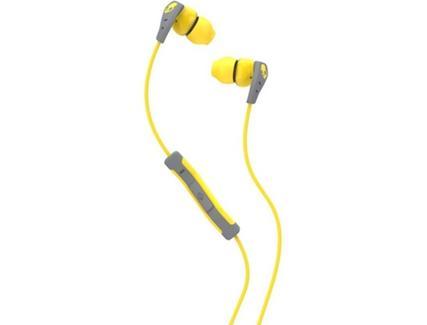 Auriculares com Fio SKULLCANDY Method (In Ear – Microfone – Amarelo)
