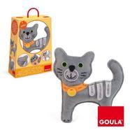 Diset: Conjunto Para Bordar Gato Lilo