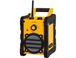 Rádio Portátil USB CLATRONIC BR 816 Amarelo e Preto