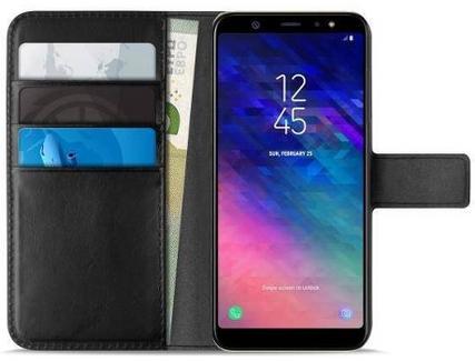fcc3cecde Capa PURO Wallet Samsung Galaxy A6+ 2018 Preto — Comparador ZWAME