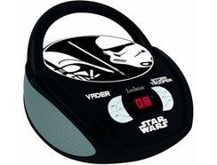 Leitor Rádio/CD Star Wars RCD108SW Preto