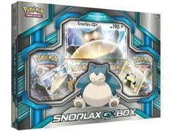 Coleção Box Cartas POKÉMON Snorlax-GX