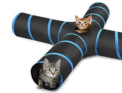 Túnel para Gatos – 4 vías