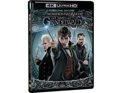 Blu-Ray 4K Monstros Fantásticos: Os Crimes de Grindelwald (De: David Yates – 2018)