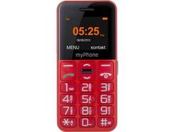 "Telemóvel MYPHONE Halo Easy SS (1.8"" – 2G – Vermelho)"