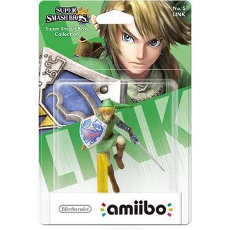 Amiibo Smash – Figura Link (The Legend of Zelda)