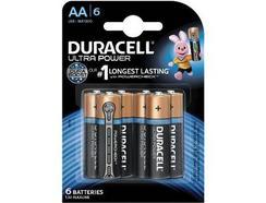 Pilhas DURACELL Ultra AA K6
