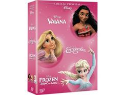 DVD Pack Vaiana + Entrelaçados + Frozen