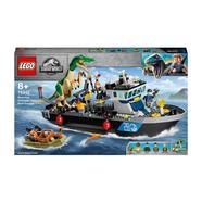 LEGO Mundo Jurássico Baryonyx Navio Fuga do Dinossauro