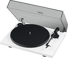 Gira-Discos PRO-JECT Primary E Phono Branco (Manual – Correia – Velocidades: 33 1/3 – 45)