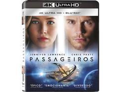 Blu-Ray 4K + Blu-Ray Passageiros