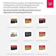 Action cam XIAOYI 4K BR + Caixa (4K – 12 MP – Até 127 min de autonomia – Wi-Fi e Bluetooth)