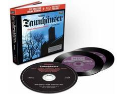 CD Wagner: Tannhäuser por R. Kollo, W. Hollweg, W. Staatsopernchor/Wiener Philharmoniker/Sir Georg Solti