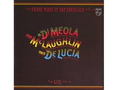 CD John McLaughlin, Al Di Meola & Paco de Lucía – Friday Night In San Francisco