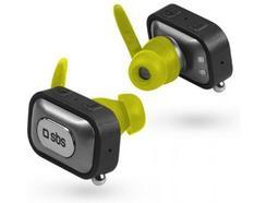 Auricular SBS Bluetooth Twin 4.0 e Suporte de Carga