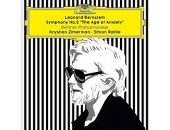 "CD Bernstein: Symphony Nº. 2 ""The Age Of Anxiety"" por Krystian Zimerman, Sir Simon Rattle & Berliner Philharmoniker"