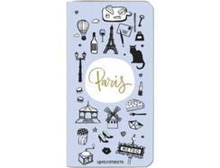 Powerbank LOVELY STREETS Paris New Design 4000