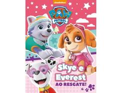 Livro Paw Patrol: Skye e Everest Ao Resgate! de vários autores