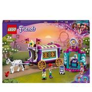 Mundo de Magia: Caravana Caravana de Brinquedos para Meninos e Meninas +6 Anos com Mini Bonecas LEGO Friends