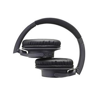 Auscultadores TECHNICA SR30BTBK (Over Ear – Microfone – Preto)