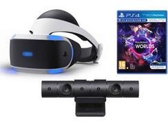 PlayStation VR + Câmara + Jogo VR Worlds