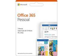 Software MICROSOFT Office 365 Pessoal